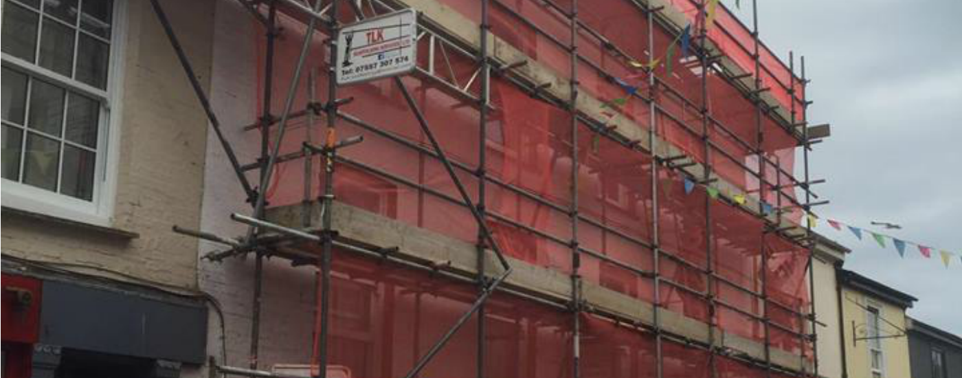 Domestic & Commercial Scaffolding Services In Cornwall
