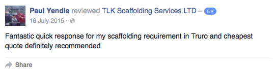 Scaffolding In Cornwall - TLK Scaffolding Services LTD